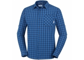 Columbia Triple Canyon Long Sleeve Shirt SuperBlue.Car