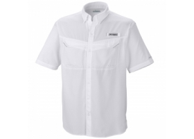 Columbia Low Drag Offshore SS Shirt White