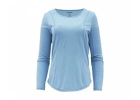 Simms Women's Ltwt Core Top Faded Denim