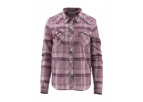 Simms Women's Ruby River Shirt Garnet Plaid