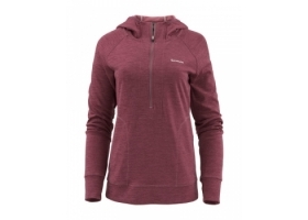 Simms Women's Bugstopper Hoody Garnet Heather