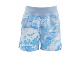 Simms Women's Taiya Short Cloud Camo Blue