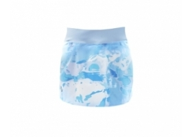 Simms Women's Guide Skort Cloud Camo Blue