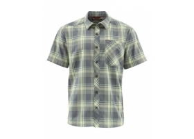 Simms Outpost SS Shirt Storm Plaid