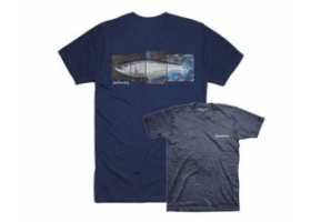 Simms DeYoung Seatrout T-shirt Navy Heather