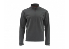 Simms Midweight Core Quarter Zip Carbon