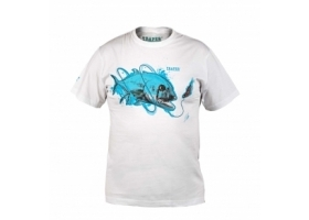 T-Shirt Traper Art GT White