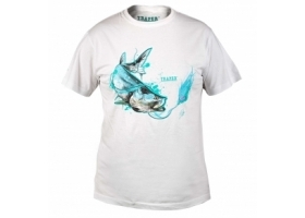 T-Shirt Traper Art Tarpon White
