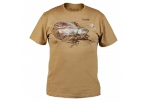 T-Shirt Traper Art Grayling Sand