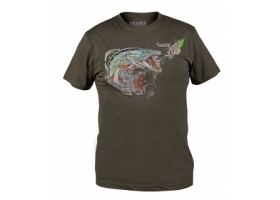 T-Shirt Traper Art Pike Dark Khaki