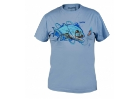 T-Shirt Traper Art GT Light Blue