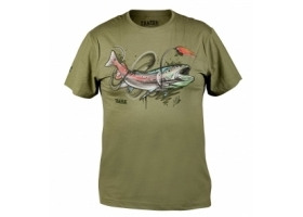 T-Shirt Traper Art Hucho Light Khaki