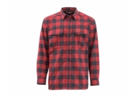 Koszula Simms ColdWeather Shirt Red Buffalo Plaid